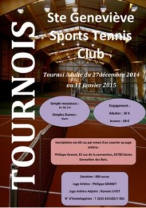 Tennis – Inter club hiver