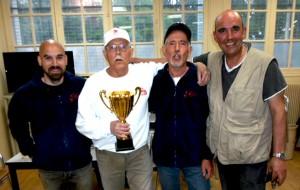 SGS Pétanque 15éme club d'Essonne pour la saison 2014-2015