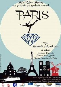 Gala SGS Roller Artistique 2016 – Paris